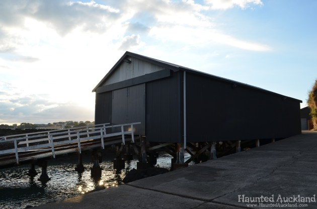 Boat Shed Exterior - Torpedo Bay Naval Museum