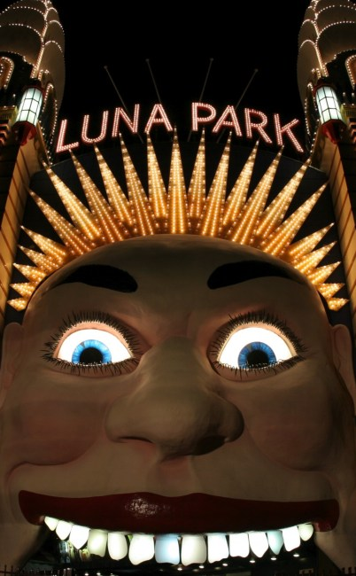 Tragedy at Luna Park, Sydney.