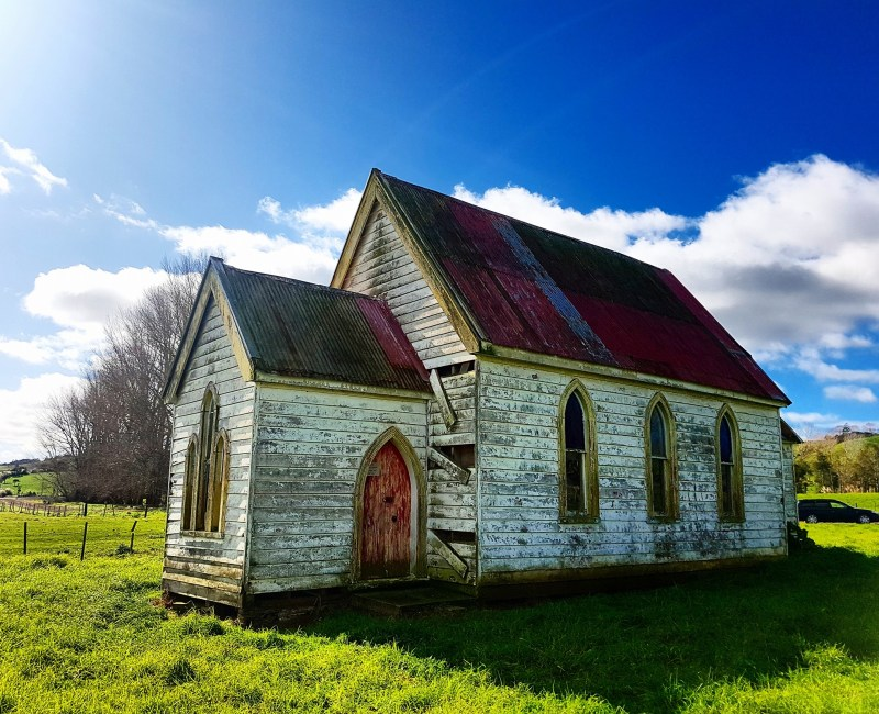 Abandoned Zion Church –  Matakohe, Northland.