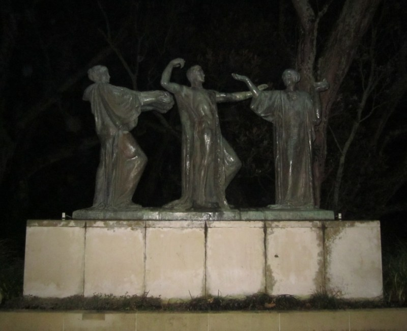 The Three Witches, Auckland Domain