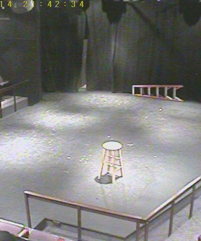 Ghost Cam: Furman Theatre, Greenville South Carolina