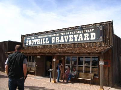 Boot Hill Cemetery – Arizona