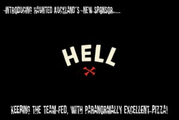 Our new Sponsor, Hell Pizza!