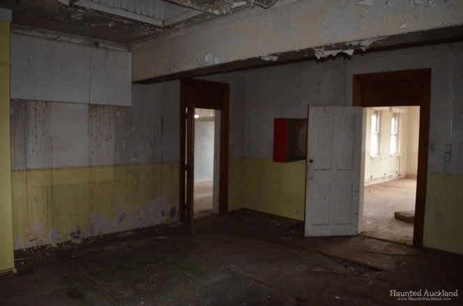 Main foyer, upstairs in Admin Building