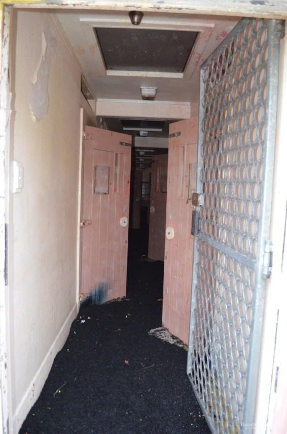 Maximum Security interior, upstairs cell block