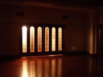 Ballroom doors
