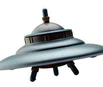 Sightings of UFOs off North coast