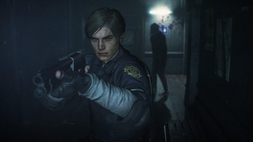 Resident Evil 2 screenshot courtesy of Polygon