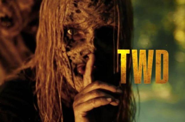 A still from The Walking Dead season 10 teaser