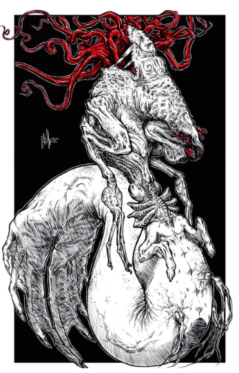 Eldritch Mermaid Artist - John Clayton
