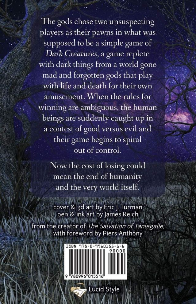 Dark Creatures: A Simple Game back cover