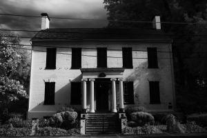 Haunted Goldsborough House Haunted Cambridge Maryland Infrared Photography