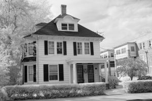 Haunted and Historic Cambridge Maryland Infrared Photography