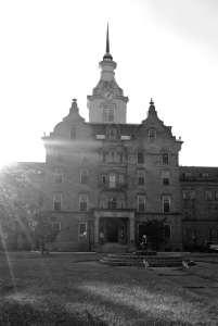 Trans-Allegheny Lunatic Asylum Main Building Haunted Photography