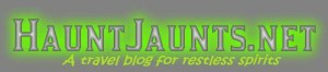 HauntJaunts.net Blog Banner with tag