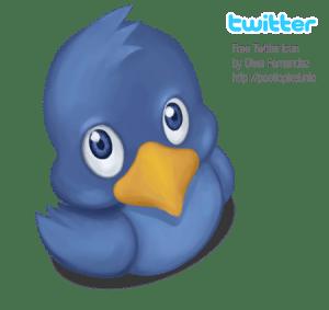 Free Twitter Icon by Diwa Fernandez
