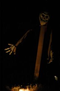 Funny bones at night