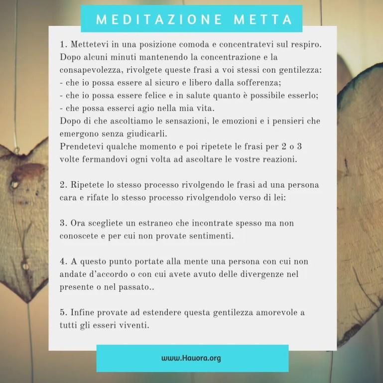 Meditazione della gentilezza amorevole
