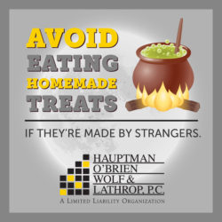 halloween safety tips avoid eating homemade treats from strangers