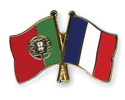 Freundschaftspins-Portugal-Frankreich
