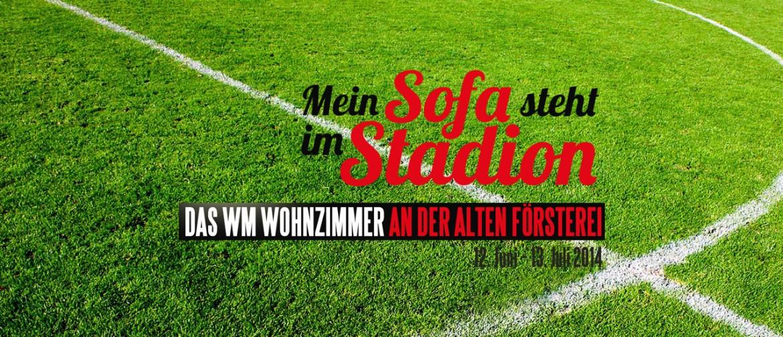 Tausende Fussballfans Erleben Alle Spiele Der Fussball WM 2014 Im Stadion Des 1FC Union
