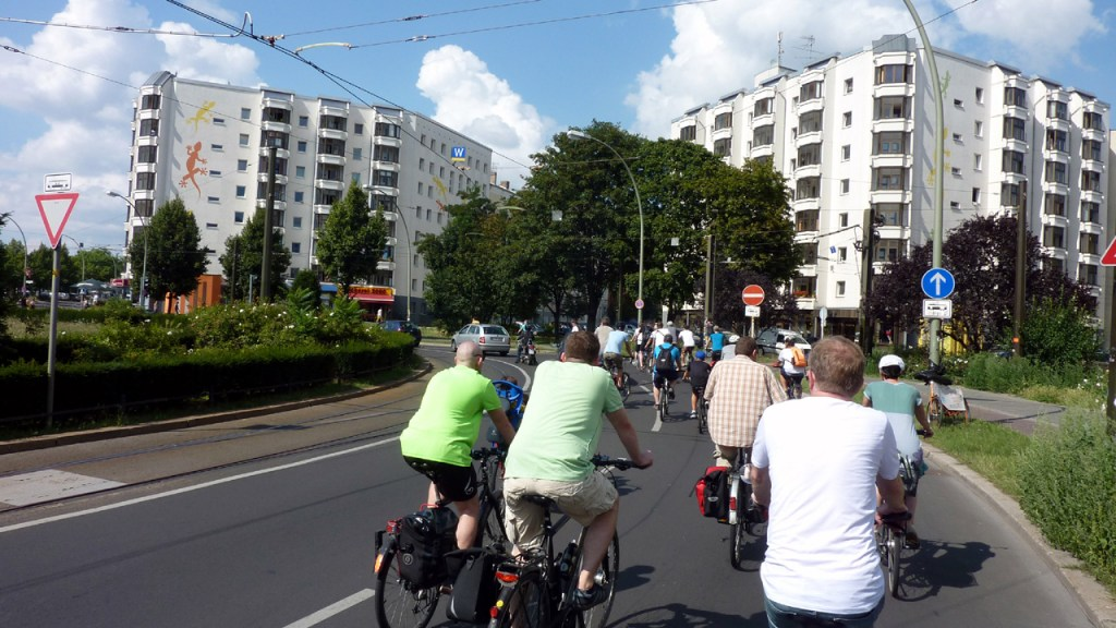 Critical Mass Berlin: Kritische Masse - Bild17 ©Orlando Mittmann – kritische-masse.net