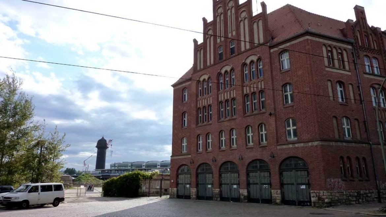 Alte Feuerwache in der Marktstraße am Ostkreuz
