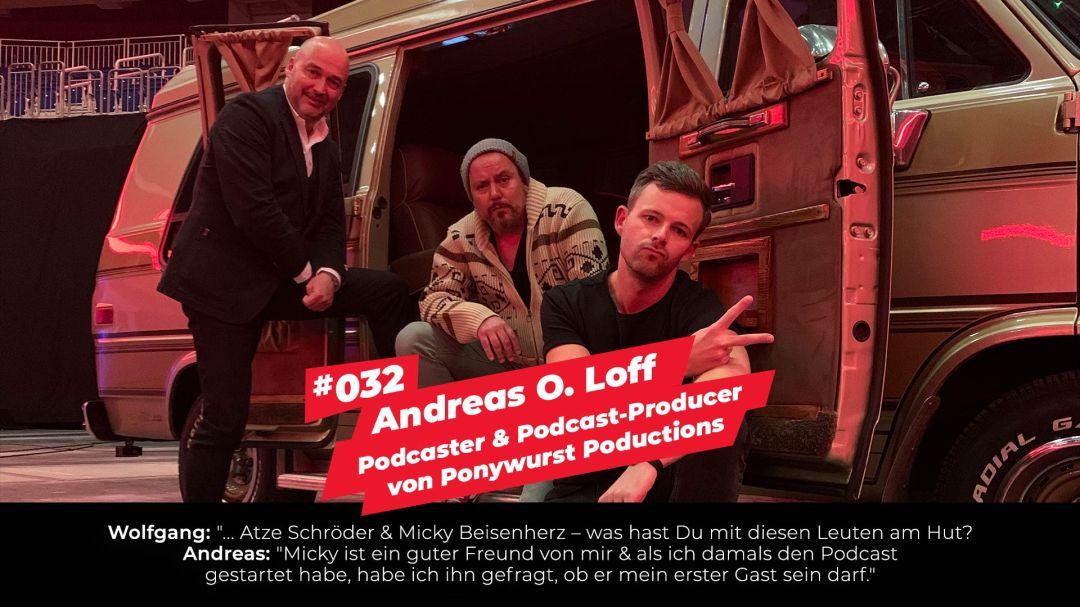Andreas O. Loff - Das Ziel ist im Weg - Zu Gast bei HAUPTSTADTPODCAST
