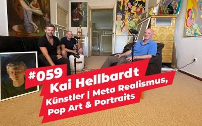 #059 – Kai Hellbardt   Künstler   Meta Realismus, Pop Art & Portraits