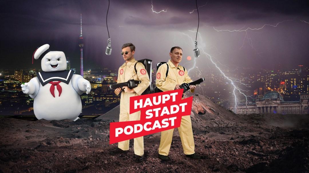 Hauptstadt Podcast mit Wolfgang Patz und Erik Freutel