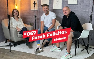 #067 – Farah Felicitas   Berliner Malerin