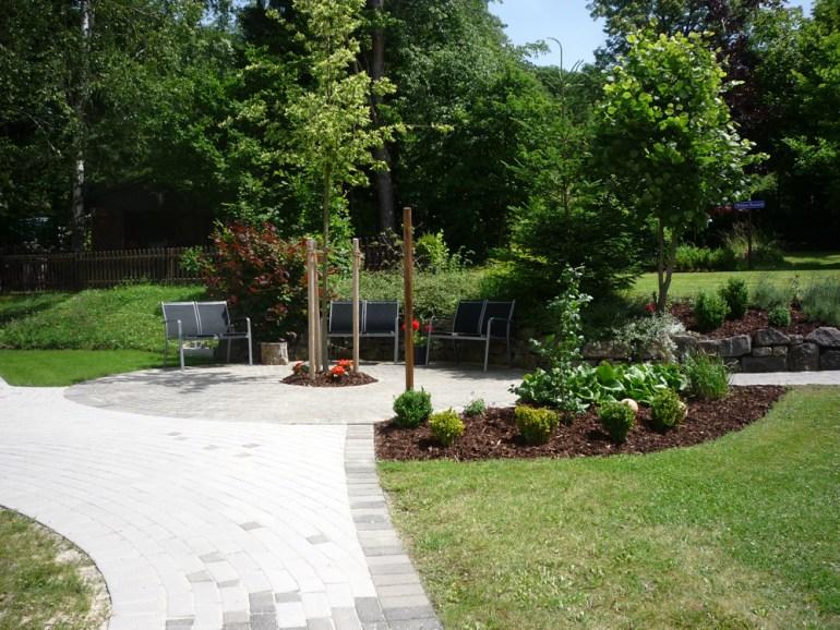 Haus am Steingarten - Der Garten