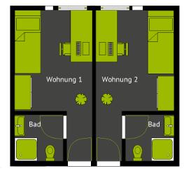 Haus Athena Studentenwohnheim
