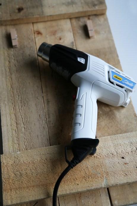 wood-pallet-frame-wagner-tool-heat-gun-haus2home