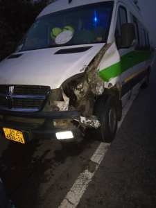 Nothern Ladies had Accident on their way 2