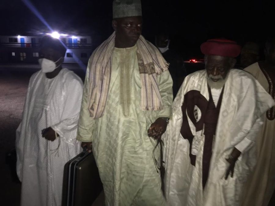 Chief Imam and his entourage at Madina Baye - Senegal 1