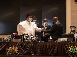 Chairperson of ECOWAS for the next term of one year