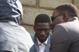 Bobi Wine Our lives are in great danger 8