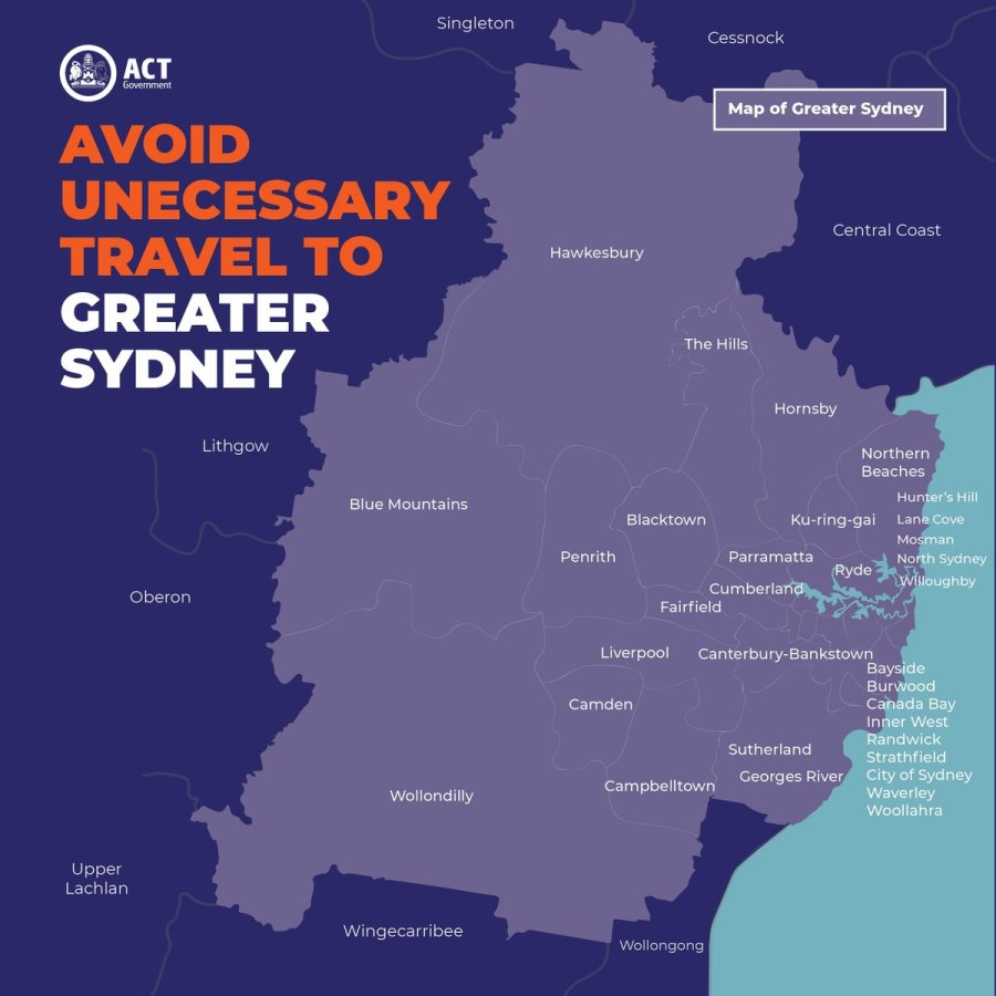Greater Sydney Restrictions