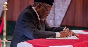 Ibrahim Tanko Mohammed, Shugaban Alkalan Nijeriya