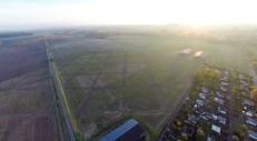 Luftbild Richtung Westen
