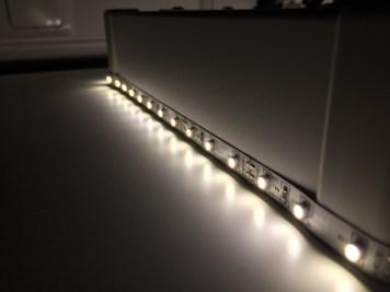 61 Testaufbau LED Streifen