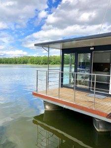 Floss Ferienhaus Hausboot in Masuren