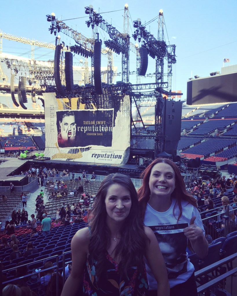 Taylor Swift at Mile High