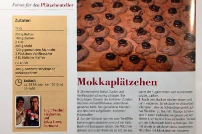 Rezept Mokkaplätzchen von Sylvia Tiews und Birgit Treichel