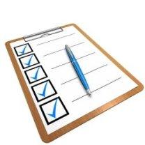 Checkliste elektrischer Dosenöffner