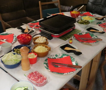 Raclette Abend