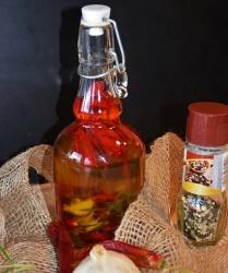 Chili-Zitronen-Öl