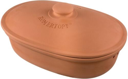 Römertopf oval 81005 - Brottopf aus Ton