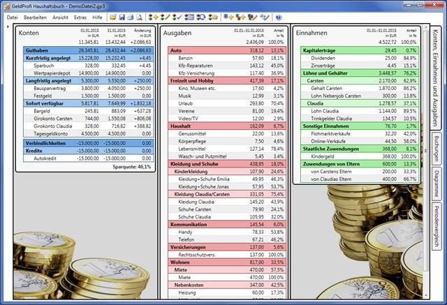 Haushaltsbuch kostenlos Geldprofi